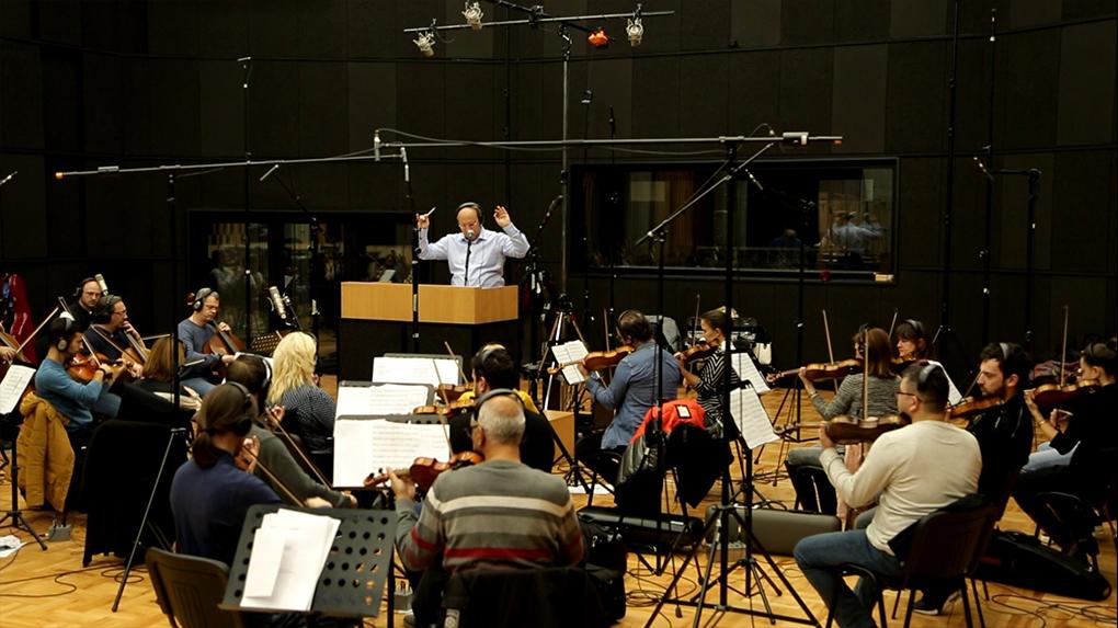 Chocolate Man Recording Session